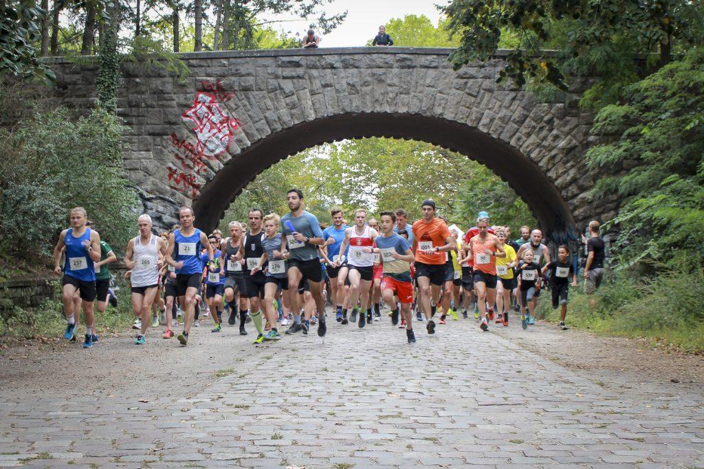 Lauf durch den Volkspark Rehberge 2019